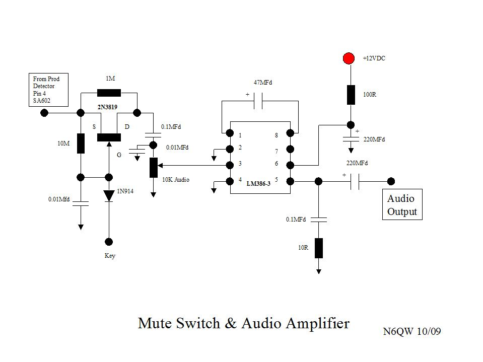 audio mixer block diagram