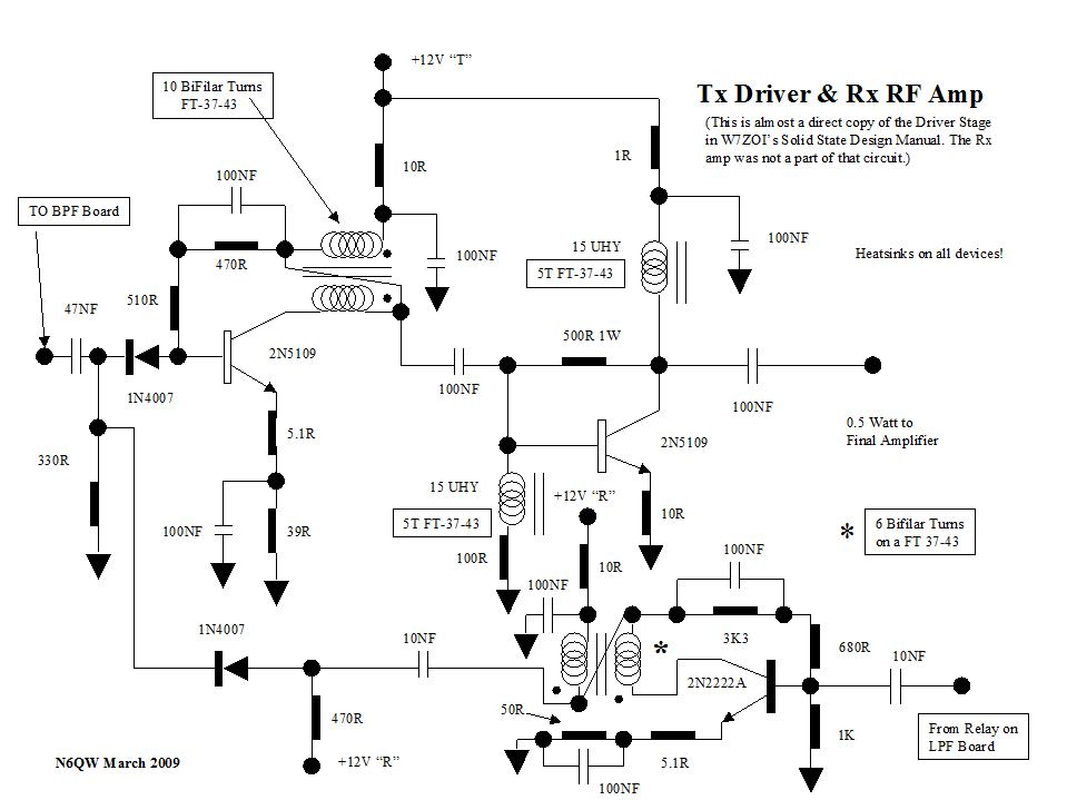 Schematics on amplifier schematic